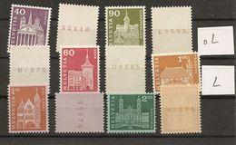 Schweiz, 1963 Rollemarken,3 Set**,  Mit/ohne Leuchtstoff, Siehe Scans! - Coil Stamps