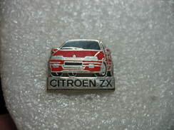 Pin's Voiture Citroen ZX. Decat - Citroën
