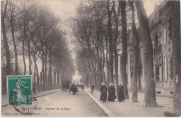 Bl - Cpa GUINGAMP - Avenue De La Gare - Guingamp