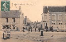45 - LOIRET / Dordives - 452657 - Rue De La Gare - Beau Cliché Animé - Dordives