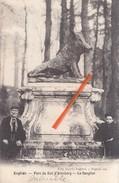ENGHIEN - Parc Du Duc D'Arenberg - Le Sanglier- Superbe Carte Animée & Circulée Vers Notaire Dubois En 1907 à Ormeignies - Edingen