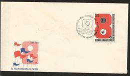 J) 1973 PERU, 8a INTERNATIONAL PACIFIC FAIR, FDC - Peru