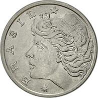 Brésil, 20 Centavos, 1975, TTB, Stainless Steel, KM:579.1a - Brazil