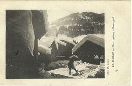 La Clusaz Hiver 1906-07 Beauregard - La Clusaz