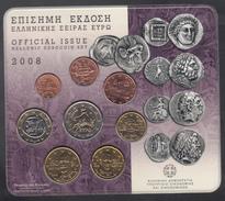 GREECE  EURO SET 2008 BU - Grèce
