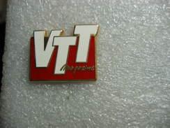 Pin's Du VTT Magazine - Medias