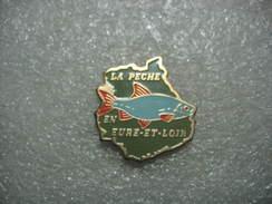 Pin's De La Pêche En Eure Et Loire - Animals