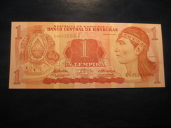 1 Lempira 2010 HONDURAS Unused UNC Banknote Billet Billete Ruinas De Copan - Honduras