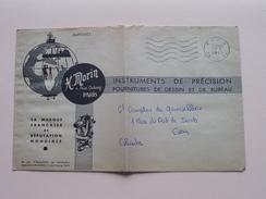 H. MORIN - 11 Rue Dulong PARIS Instruments De Précision ( Enveloppe ) 1961 ( Zie Foto / Voir Photo) ! - Frankrijk