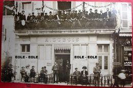 36 - Carte Photo - LE BLANC - Cafe - Hotel - A DUBOIS - Devanture - Fete - Rue Saint Lazare - Le Blanc