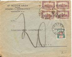 Schweiz, 1924, Brief Aus Ungarn, Nach Luzern, Taxiert, Siehe Scans! - Postage Due