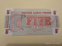 5 Pence - British Military Authority