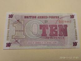 10pence - Autorità Militare Britannica