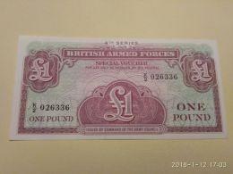 1 Pound - British Military Authority