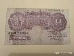 10 Schillins - …-1952 : Ante Elizabeth II