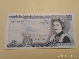 5 Pounds 1980-87 - 1952-… : Elizabeth II