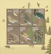 Ukraine  Fauna - Postzegels