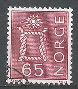 Norway 1968. Scott #467 (U) Boatswain's Knot - Norvège