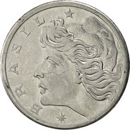 Brésil, 5 Centavos, 1967, TTB, Stainless Steel, KM:577.1 - Brazil