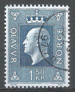Norway 1970. Scott #538 (U) King Olav V, Roi - Norvège