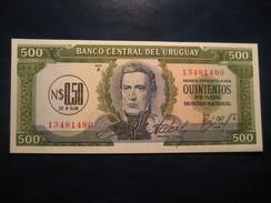 500 Pesos 0,50 N $ URUGUAY Unused UNC Banknote Billet Billete - Uruguay