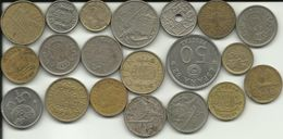ESPAÑA - 20 SPANISH COINS - NUMBER ONE - SEE PHOTOS - NICE PRICE - Spanien