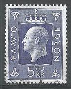 Norway 1970. Scott #540 (U) King Olav V, Roi - Norvège