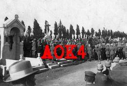 59 Nord ROUBAIX Nordfrankreich Cimetiere Militaire Allemand Friedhof Ceremonie Enterrement - Roubaix