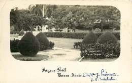 100917 - AMERIQUE ANTILLES - HAITI - Joyeux Noël Bonne Année - PETIONVILLE Place Boyer - Jardin - Haïti