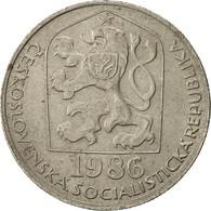 Tchécoslovaquie, 50 Haleru, 1986, TB+, Copper-nickel, KM:89 - Czechoslovakia