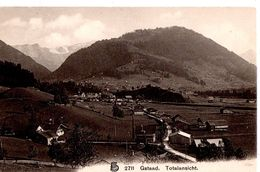 Gstaad Totalansicht. - BE Berne