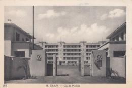 Oran Algeria, Garde Mobile Guard Police Gendarmes, C1930s Vintage Postcard - Oran