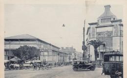 Oran Algeria, Market Hall And Colony House, Street Scene, C1930s Vintage Postcard - Oran