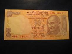 10 Rupees 2008 INDIA Mahatma GANDHI Unused UNC Banknote Inde Billet Billete - India