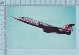 CF 104 -ARC  RCAF Saint Jean Quebec, Voyagé 4 X 1 Cent Canada - CPSM - 1946-....: Era Moderna