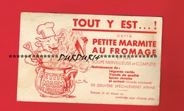 1 Buvard ... Petite Marmite Au Fromage Signé Benjamin Rabier Vache Qui Rit ... - Dairy