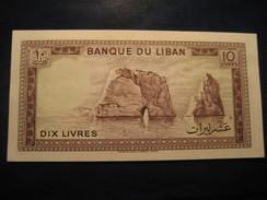 10 Livres LEBANON Unused UNC Banknote LIBAN Billet Billete - Liban