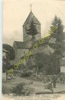 88.  RELANGES . L'église . CPA Animée . - Frankreich