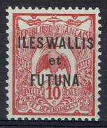 "Wallis And Futuna, Overprint ""ILES WALLIS ET FUTUNA"", 10c. Pink 1920, MH VF - Wallis And Futuna"