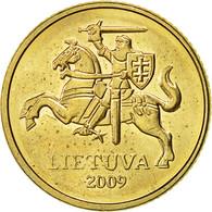 Lithuania, 10 Centu, 2009, TTB, Nickel-brass, KM:106 - Lituanie