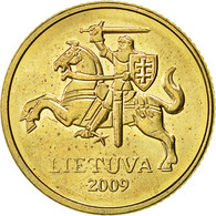 Lithuania, 10 Centu, 2009, TTB, Nickel-brass, KM:106 - Lithuania