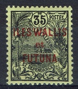 "Wallis And Futuna, Overprint ""ILES WALLIS ET FUTUNA"", 35c., 1920, MH VF - Wallis And Futuna"