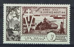 Wallis And Futuna, Liberation, 1954, MH VF  Airmail - Airmail