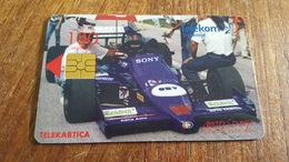 Telecarte Slovenie Formula 3000 Lola / Omv Istrabenz 1998 - Slovénie