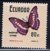 Ecuador 795 NH From 1970 Butterfly Set - Ecuador