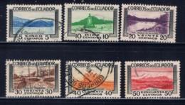 Ecuador 576-81 Used 1953 Set - Ecuador