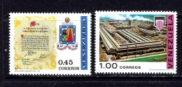 Venezuela 945-46 MNH 1969 Set - Venezuela