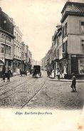 Liège - Rue Entre Deux Ponts (animée, Attelage) - Liege
