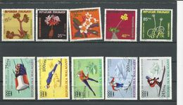 MADAGASCAR  Scott 527-530 C141, 438-540 C149-C150 Yvert 562-565 PA155, 573-575 PA160-PA161 (10) O Cote 4,25 $ 1975 - Madagascar (1960-...)