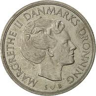 Danemark, Margrethe II, Krone, 1976, Copenhagen, TB, Copper-nickel, KM:862.1 - Denmark